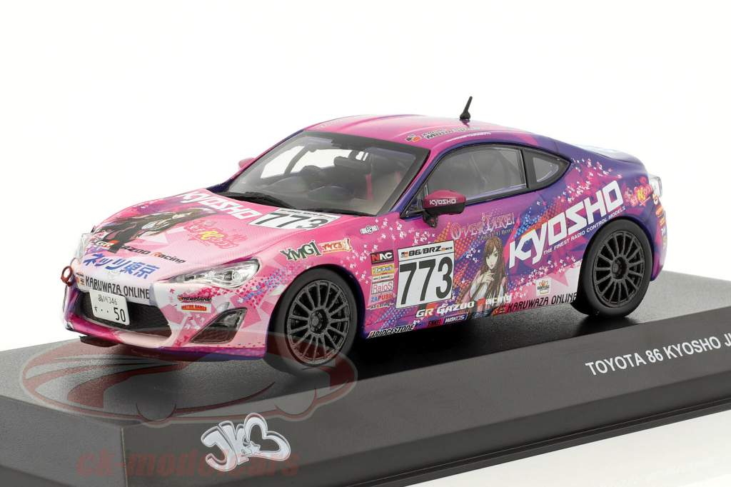 Toyota 86 #773 JKB86 year 2014 purple / pink 1:43 Kyosho
