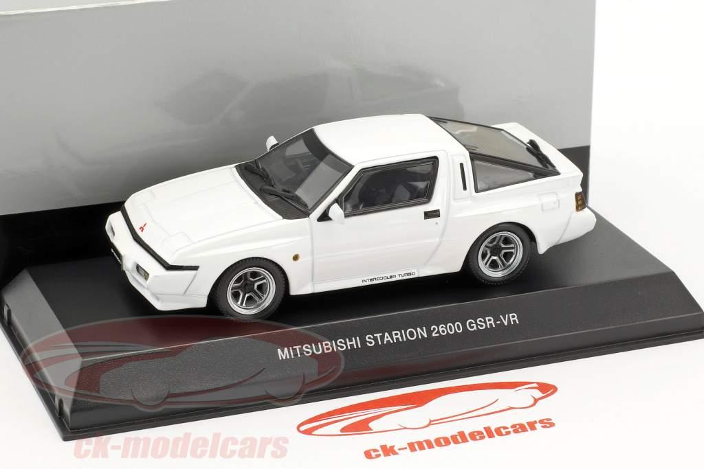Mitsubishi Starion 2600 GSR-VR année de construction 1988 blanc 1:43 Kyosho