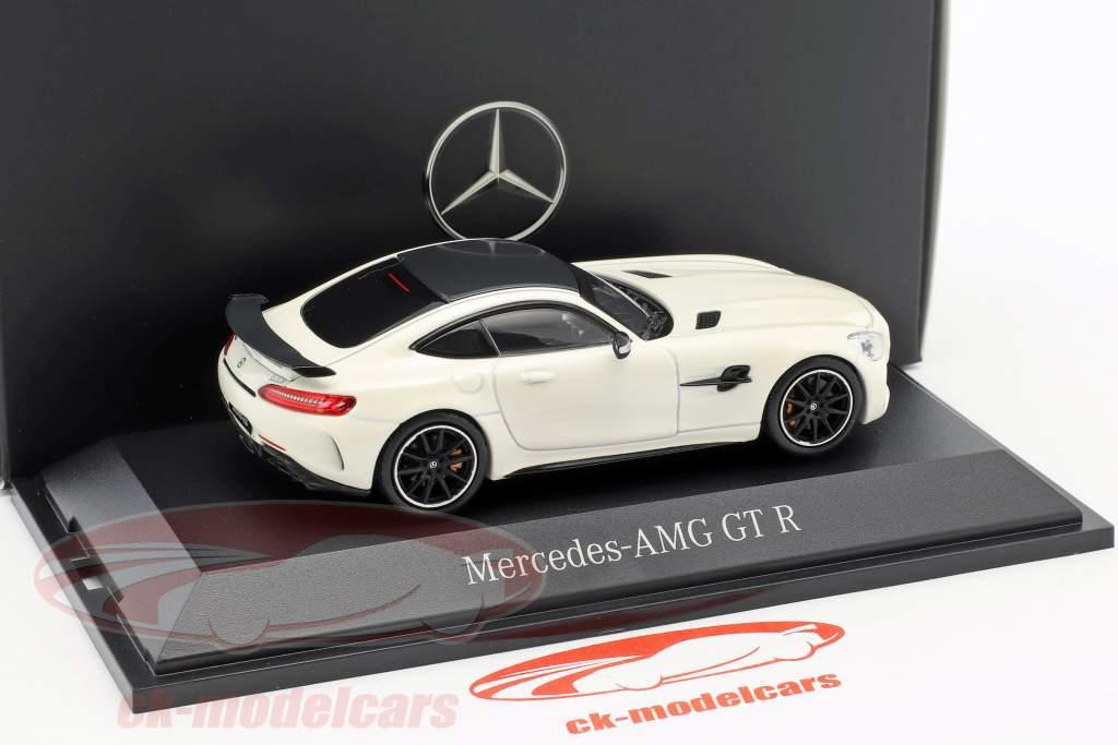 Mercedes-Benz AMG GT R diamante branco 1:43 Norev
