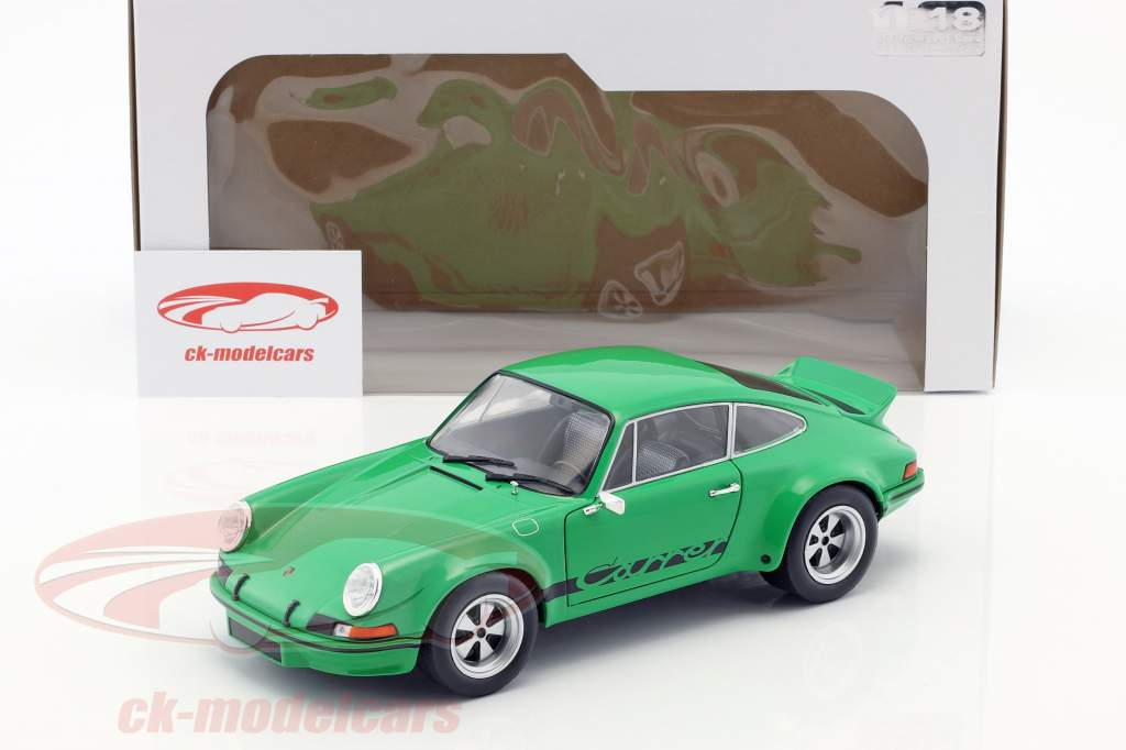 Porsche 911 Carrera RSR 2.8 Bouwjaar 1973 groen 1:18 Solido