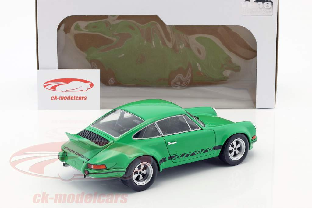 Porsche 911 Carrera RSR 2.8 Opførselsår 1973 grøn 1:18 Solido