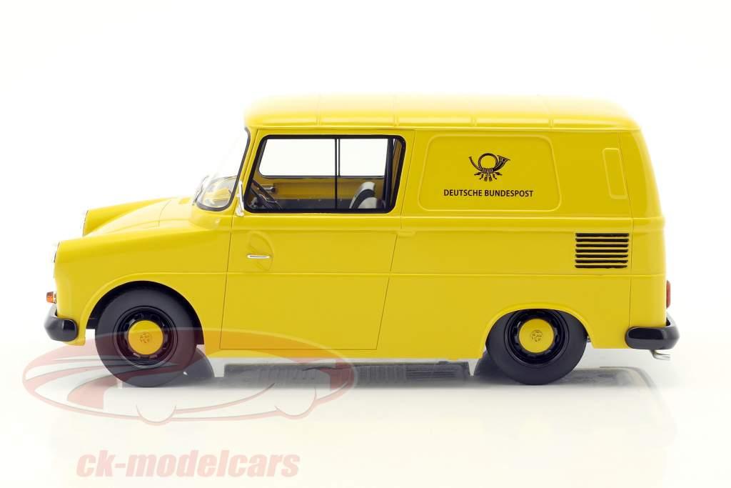 Volkswagen VW Fridolin Deutsche Bundespost gelb 1:18 Schuco