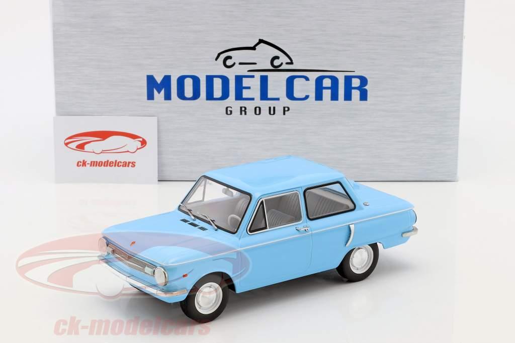 Saporoshez SAS 966 hellblau 1:18 Model Car Group