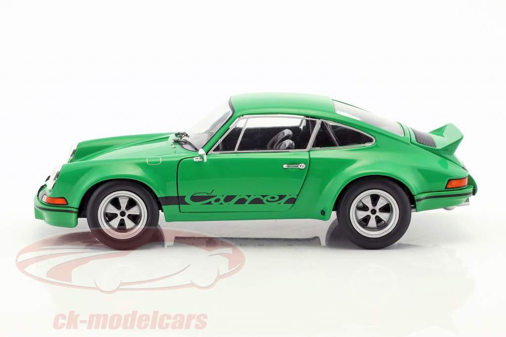 Porsche 911 Carrera RSR 2.8 año de construcción 1973 verde 1:18 Solido