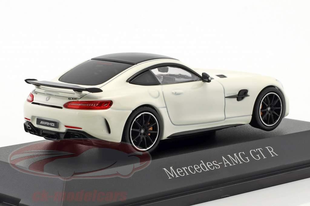 Mercedes-Benz AMG GT R diamant wit 1:43 Norev