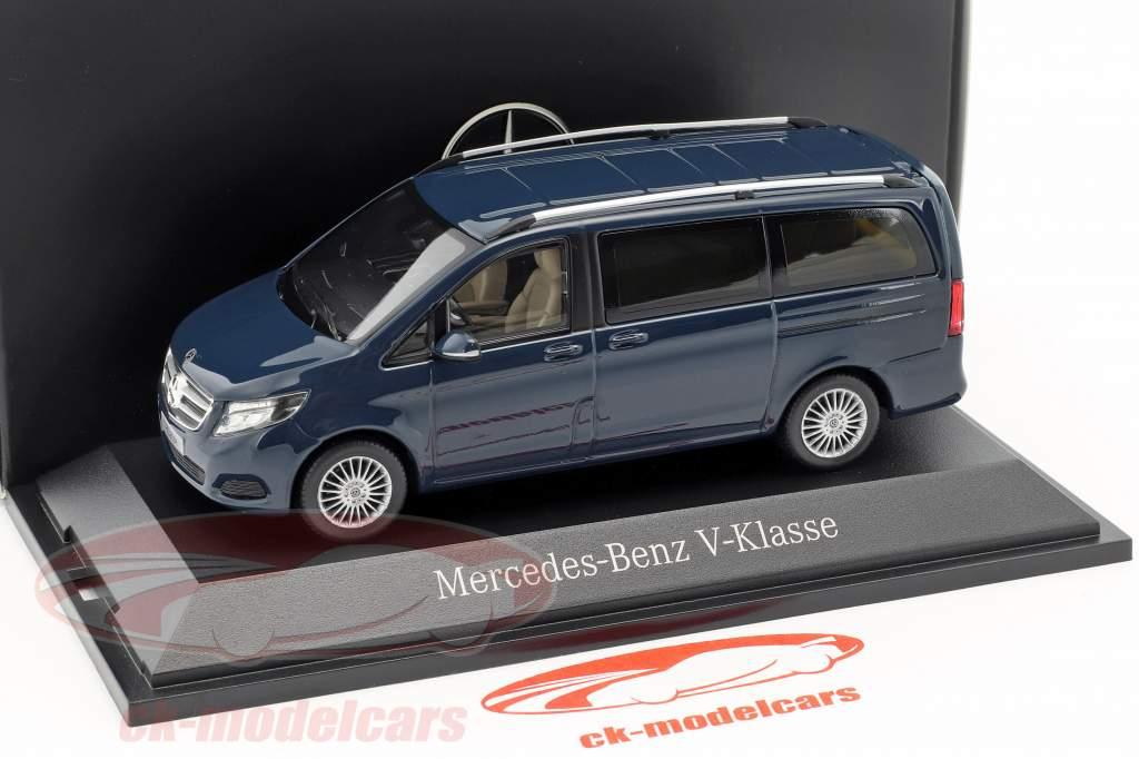 Mercedes-Benz V-Class navy blue 1:43 Norev