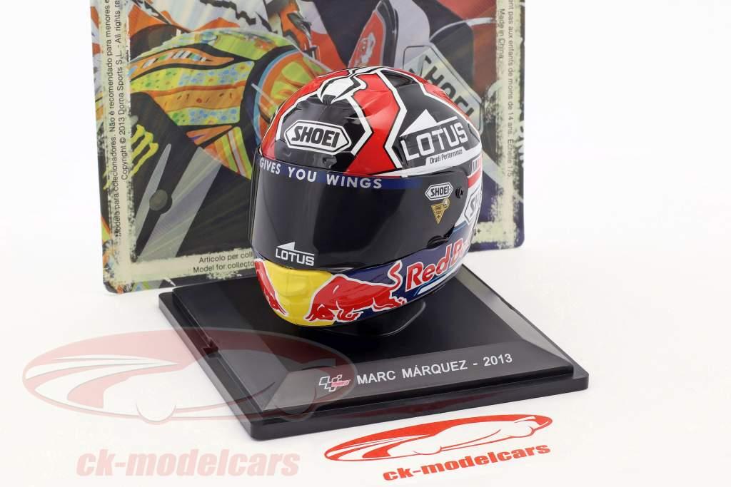 Marc Marquez champion du monde MotoGP 2013 casque 1:5 Altaya