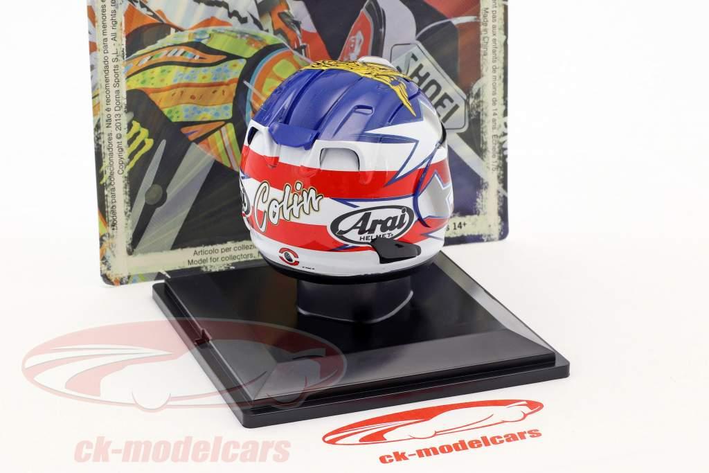 Colin Edwards MotoGP 2012 casco 1:5 Altaya