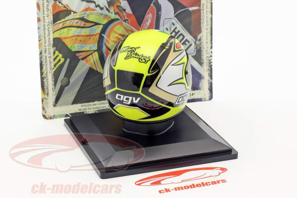 Max Biaggi World Champion 250 cm³ 1995 helmet 1:5 Altaya
