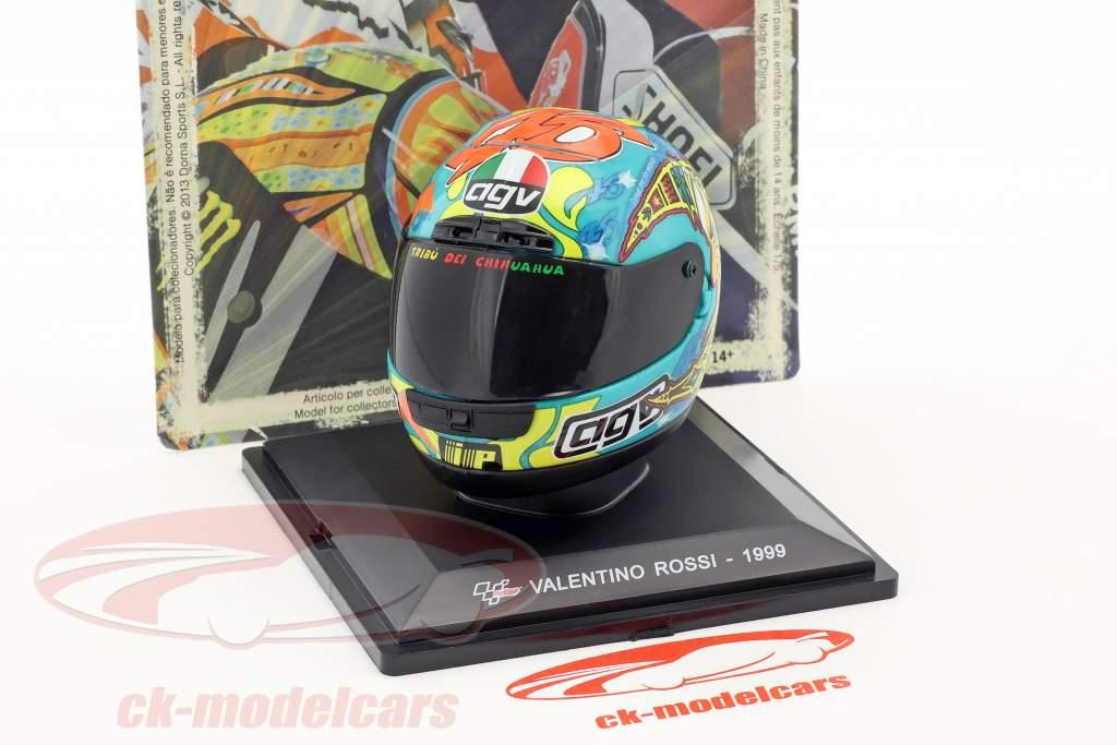 Valentino Rossi World Champion 250cm³ 1999 helmet 1:5 Altaya