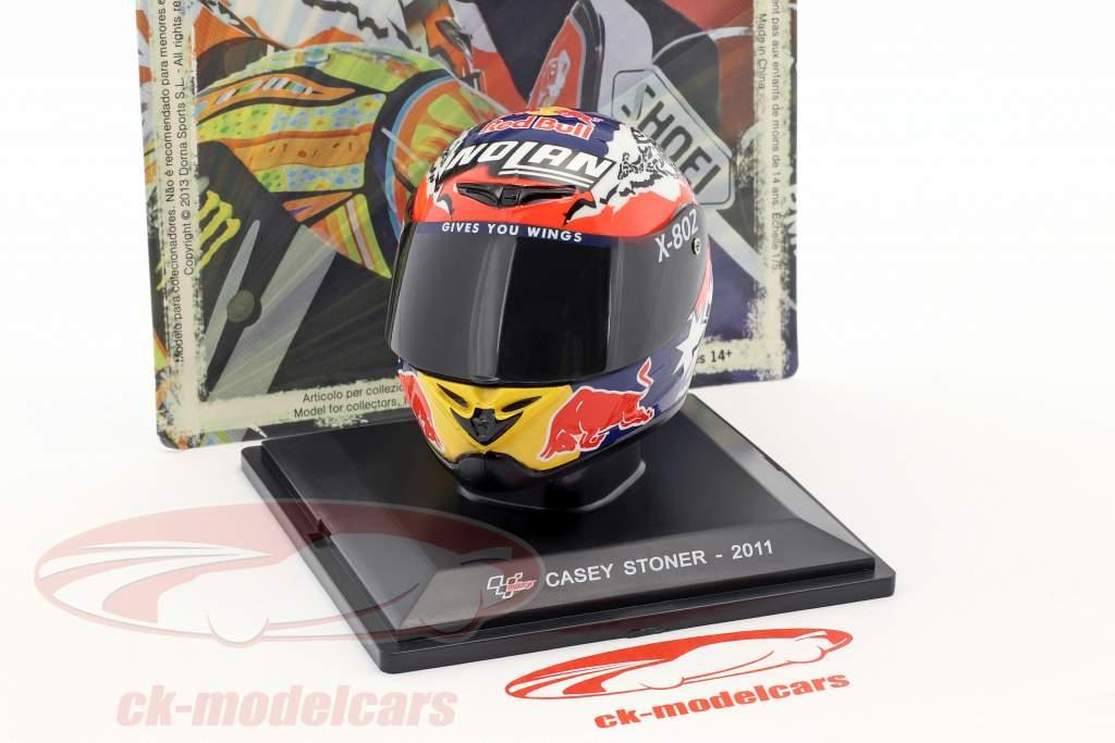 Casey Stoner Weltmeister MotoGP 2011 Helm 1:5 Altaya