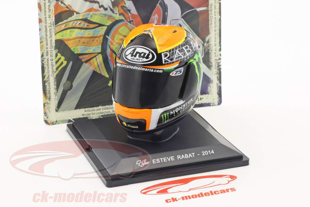 Esteve Rabat World Champion Moto2 2014 helmet 1:5 Altaya