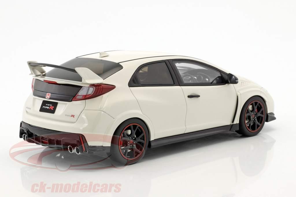 Honda Civic Type R anno di costruzione 2015 bianco 1:18 Kyosho