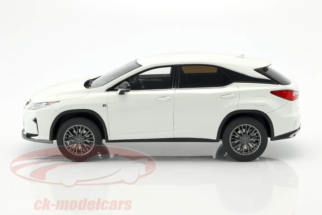 Lexus RX 200t F Sport bianco 1:18 Kyosho