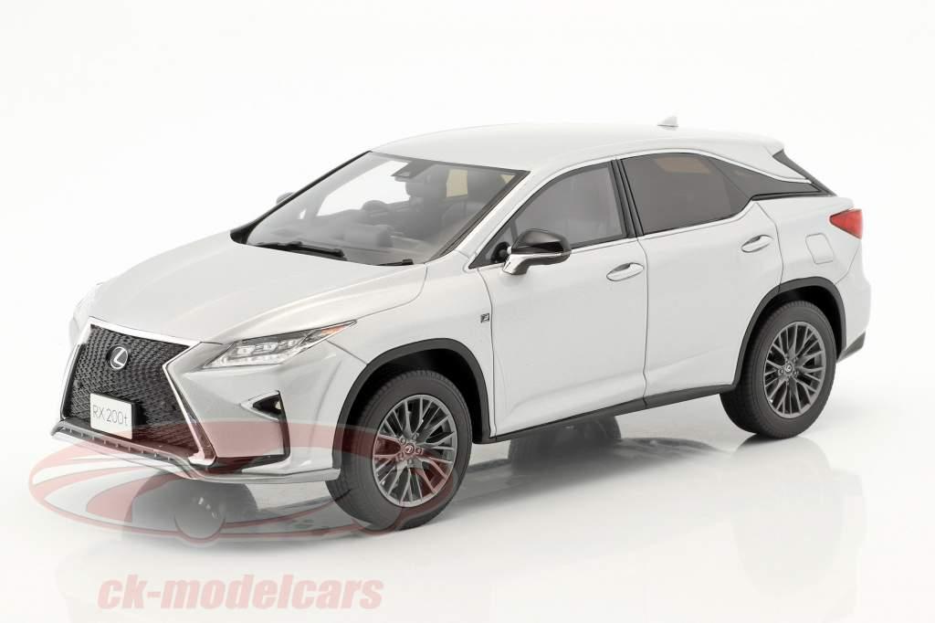 Lexus RX 200t F Sport silver 1:18 Kyosho