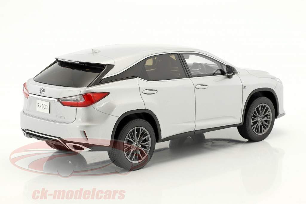 Lexus RX 200t F Sport argent 1:18 Kyosho