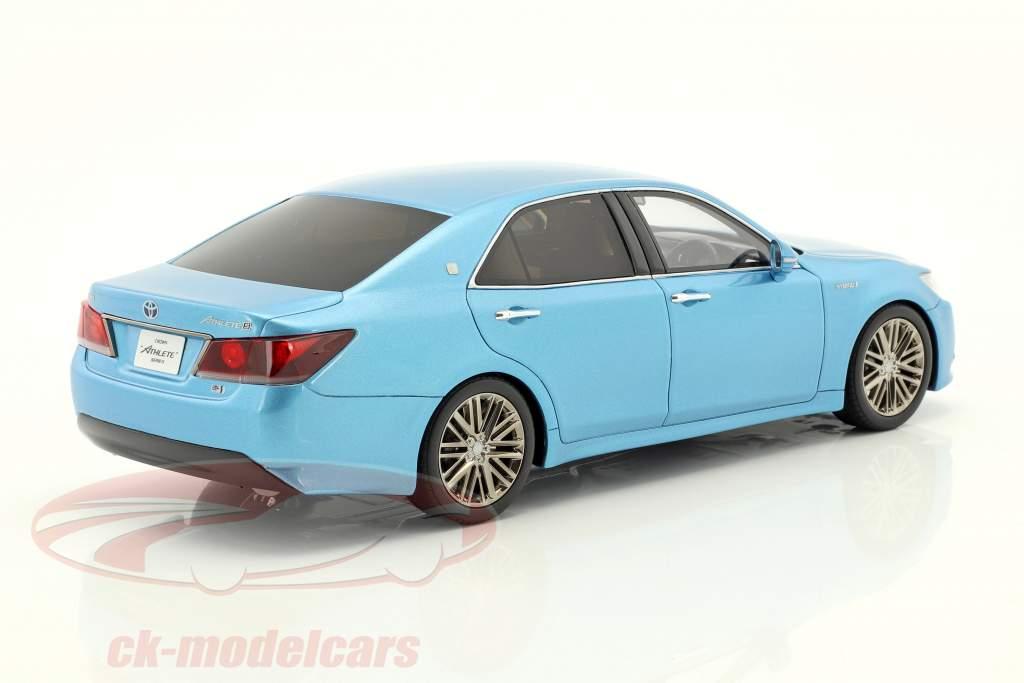 Toyota Crown Hybrid Athlete S bleu métallique 1:18 Kyosho