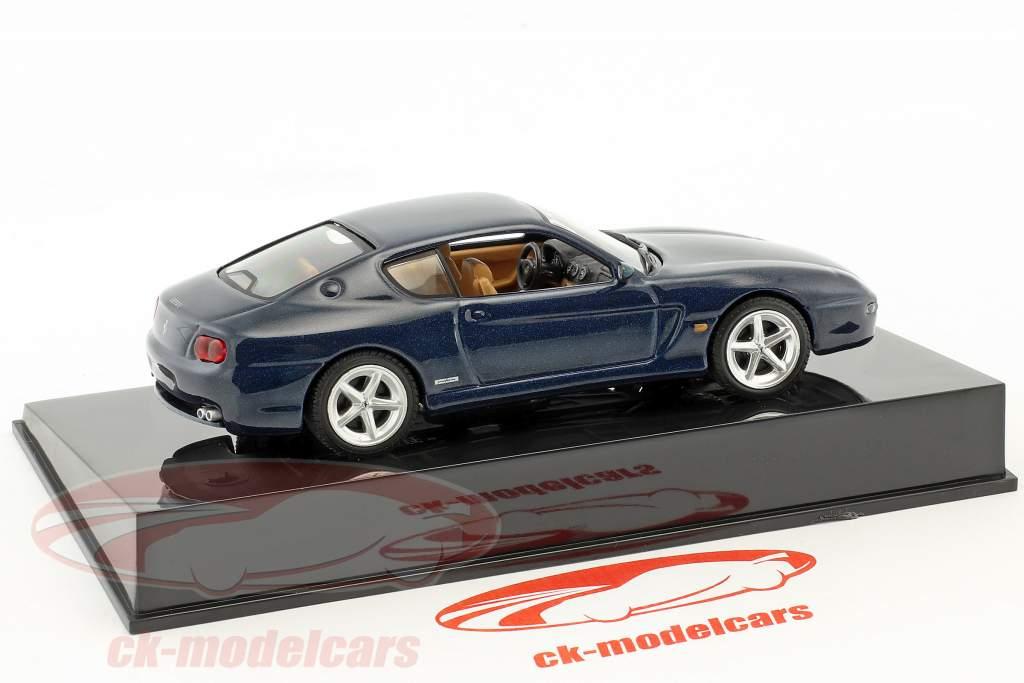 Ferrari 456 M blaumetallic mit Vitrine 1:43 Altaya