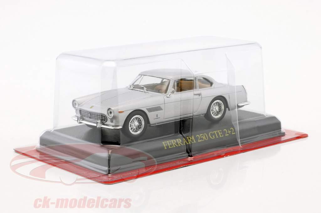 Ferrari 250 GTE 2+2 silver 1:43 Altaya