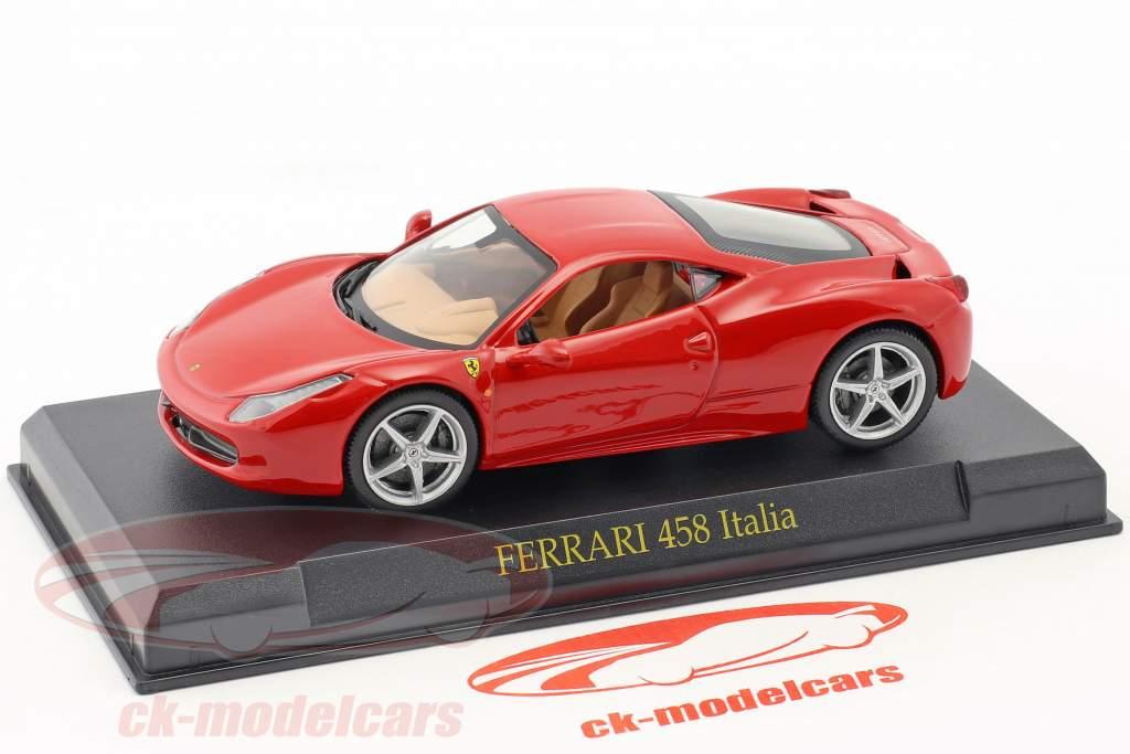 Ferrari 458 Italia rouge 1:43 Altaya