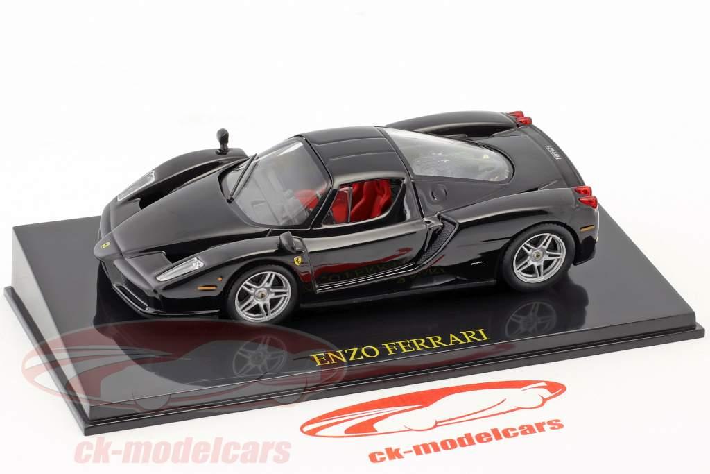 Ferrari Enzo schwarz mit Vitrine 1:43 Altaya