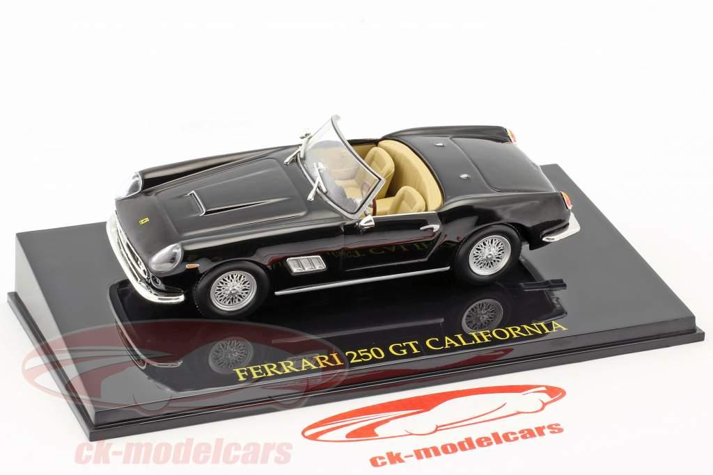 Ferrari 250 GT California black with showcase 1:43 Altaya