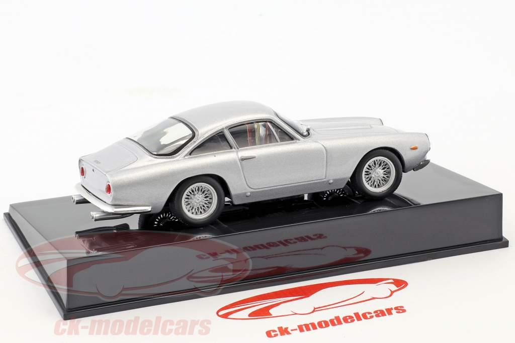 Ferrari 250 GT Berlinetta Lusso silver with showcase 1:43 Altaya
