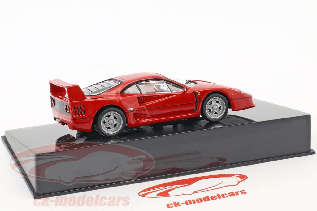 Ferrari F40 rouge avec vitrine 1:43 Altaya