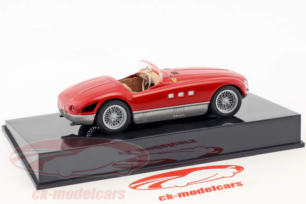 Ferrari 340 MM rouge avec vitrine 1:43 Altaya