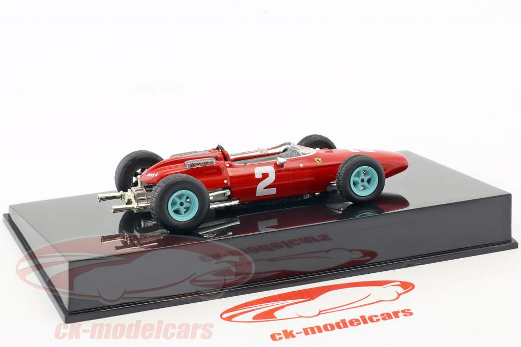 John Surtees Ferrari 158 F1 #2 formula 1 1964 with showcase 1:43 Altaya