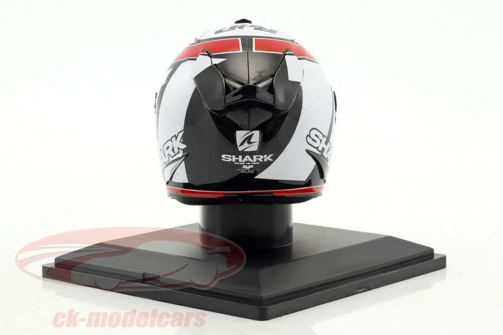 Randy De Puniet MotoGP 2012 casco 1:5 Altaya