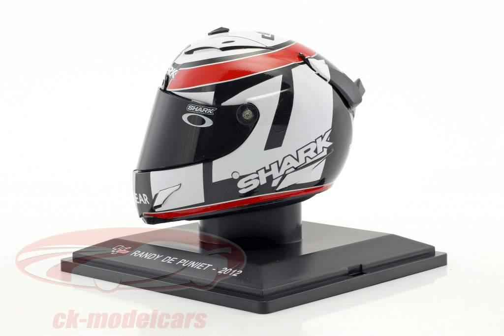 Randy De Puniet MotoGP 2012 helmet 1:5 Altaya