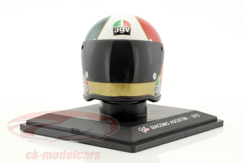 Giacomo Agostini World Champion 500cm³ 1972 helmet 1:5 Altaya