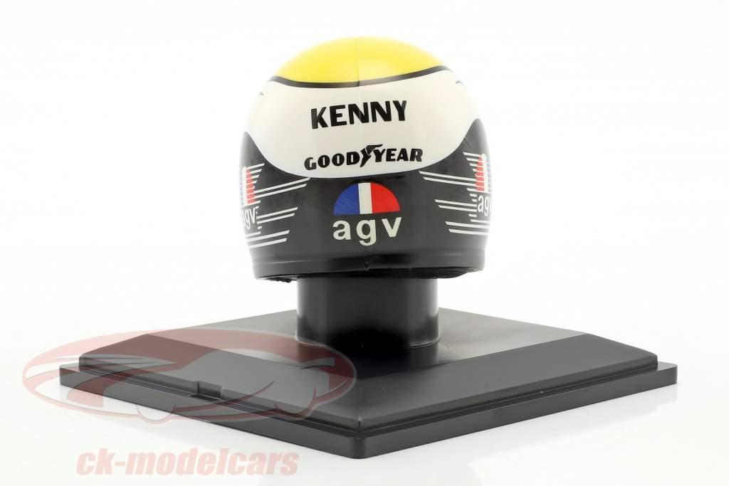 Kenny Roberts champion du monde 500cm³ 1980 casque 1:5 Altaya