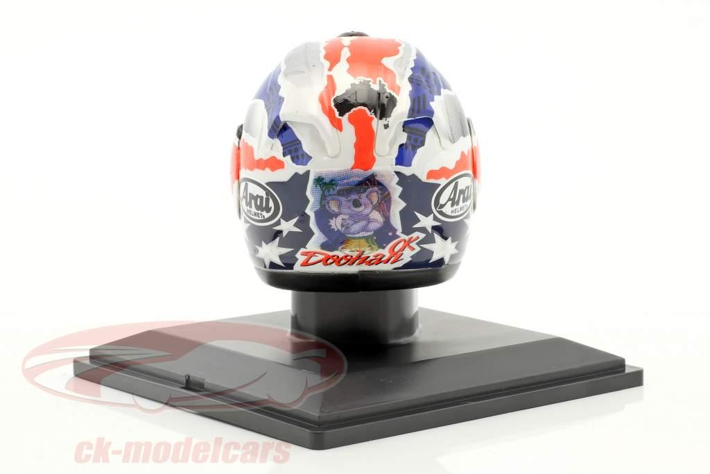 Mick Doohan World Champion 500cm³ 1998 helmet 1:5 Altaya