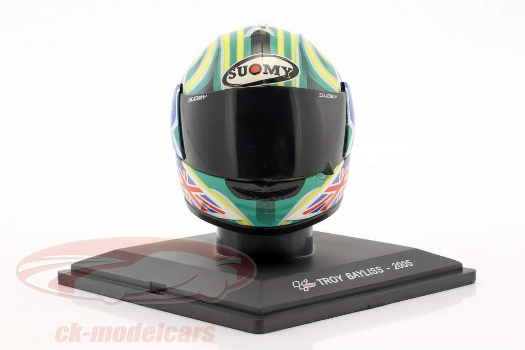 Troy Bayliss MotoGP 2005 Helm 1:5 Altaya
