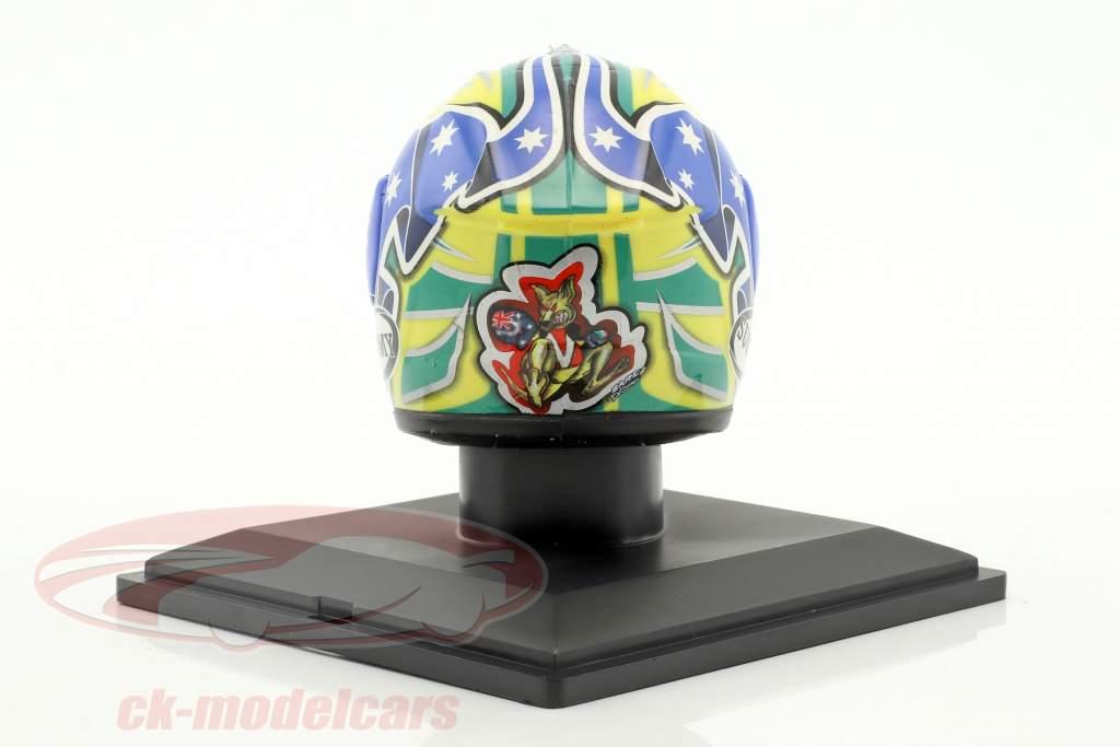 Troy Bayliss MotoGP 2005 helmet 1:5 Altaya