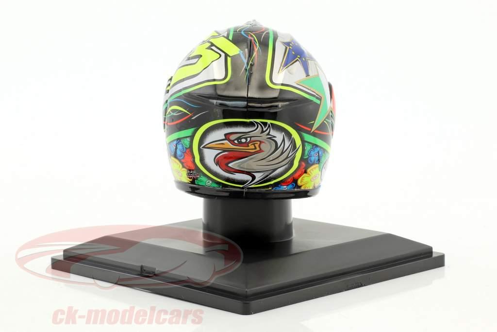 Loris Capirossi MotoGP 2011 Last Race Helm 1:5 Altaya