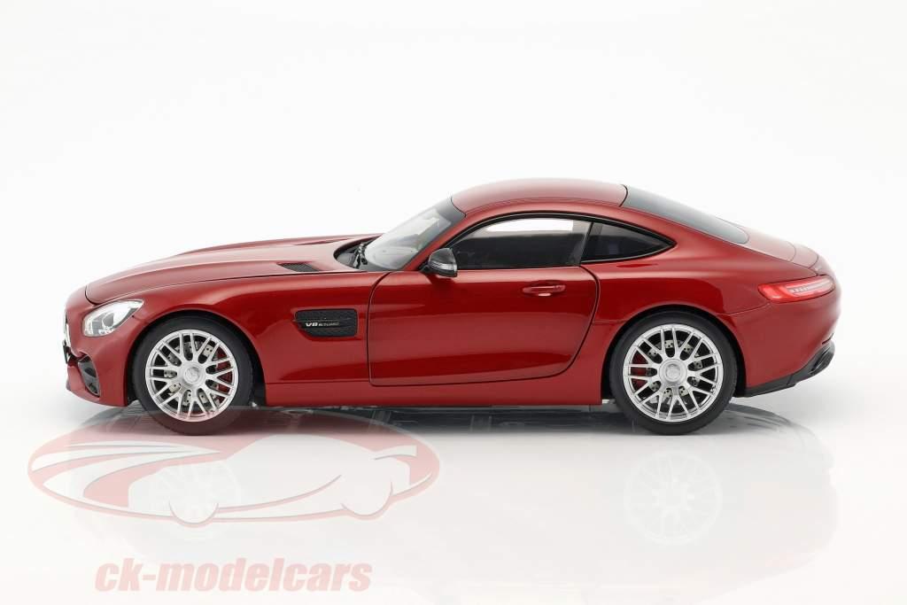 Mercedes-Benz AMG GT S giacinto rosso metallico 1:18 Norev