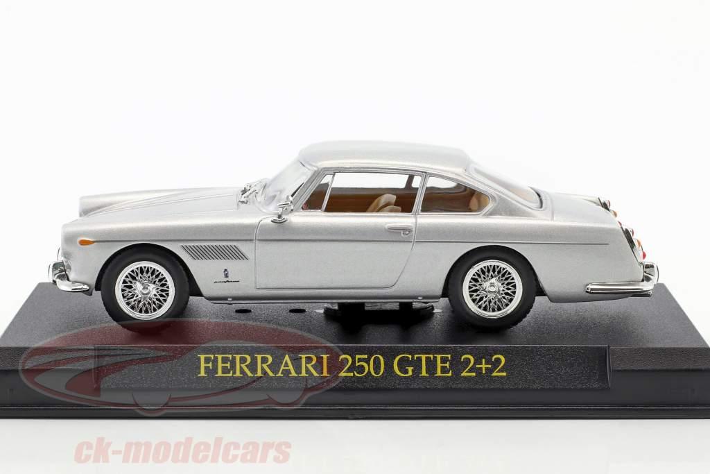 Ferrari 250 GTE 2+2 silber 1:43 Altaya