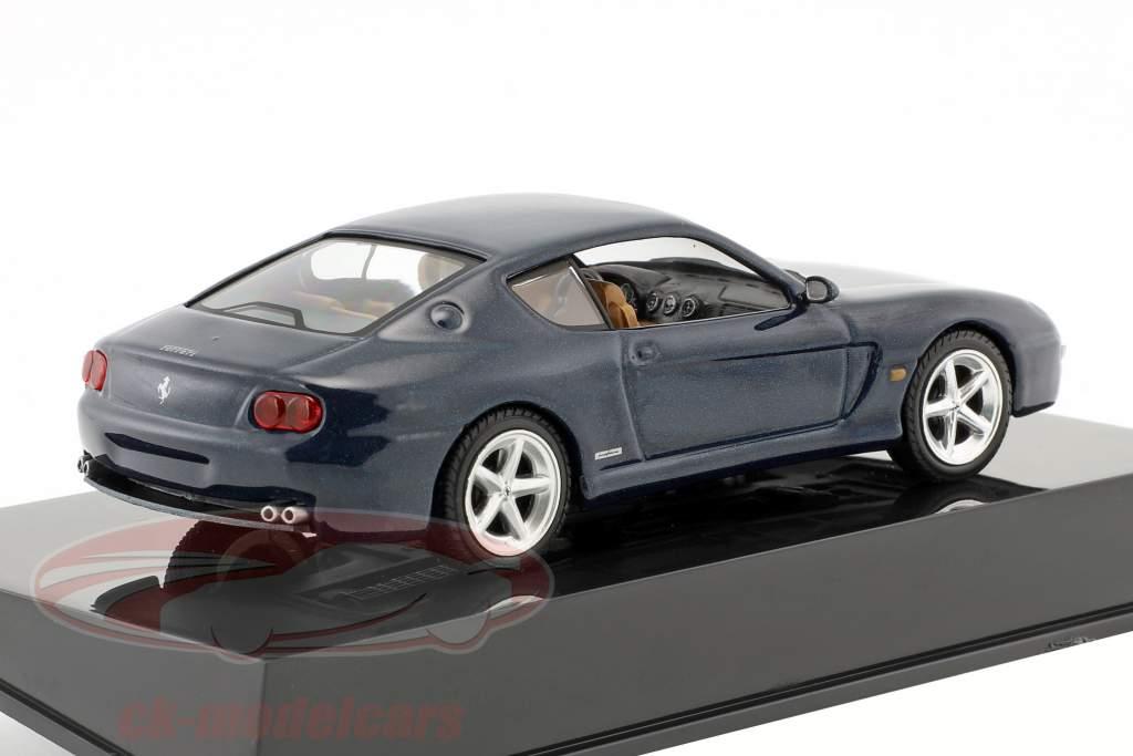 Ferrari 456 M azul metálico con escaparate 1:43 Altaya