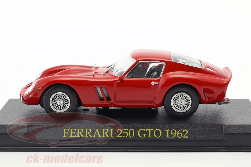 Ferrari 250 GTO anno 1962 rosso 1:43 Altaya