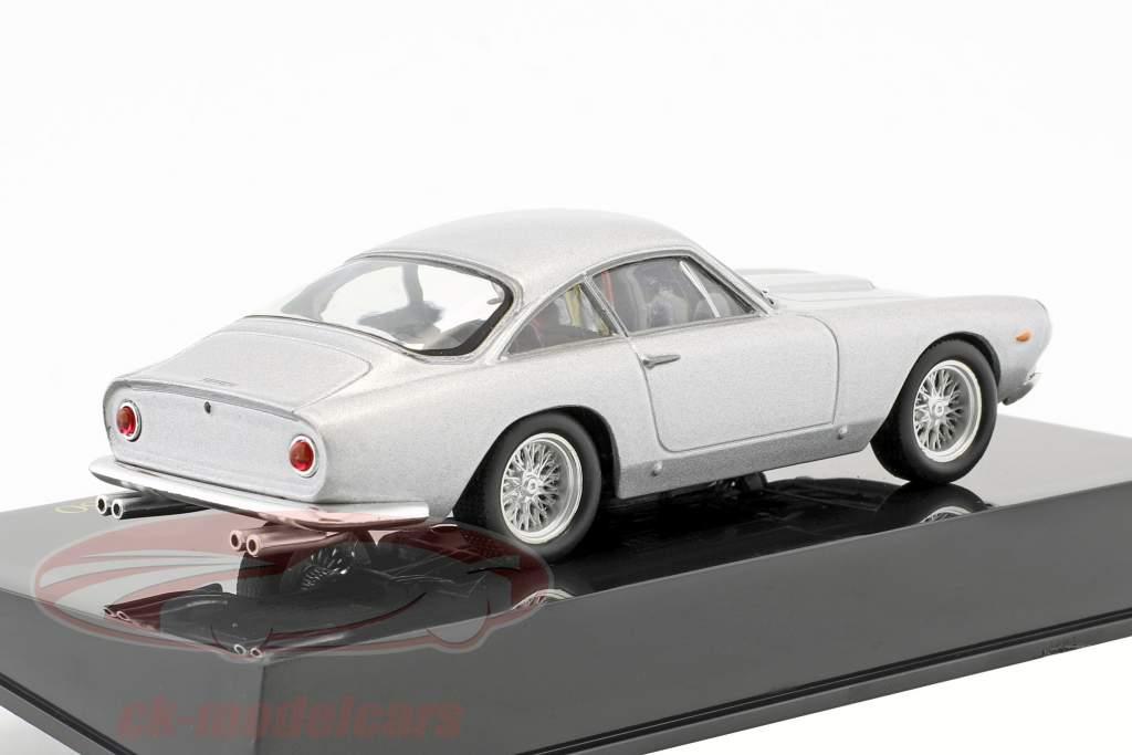 Ferrari 250 GT Berlinetta Lusso sølv med udstillingsvindue 1:43 Altaya