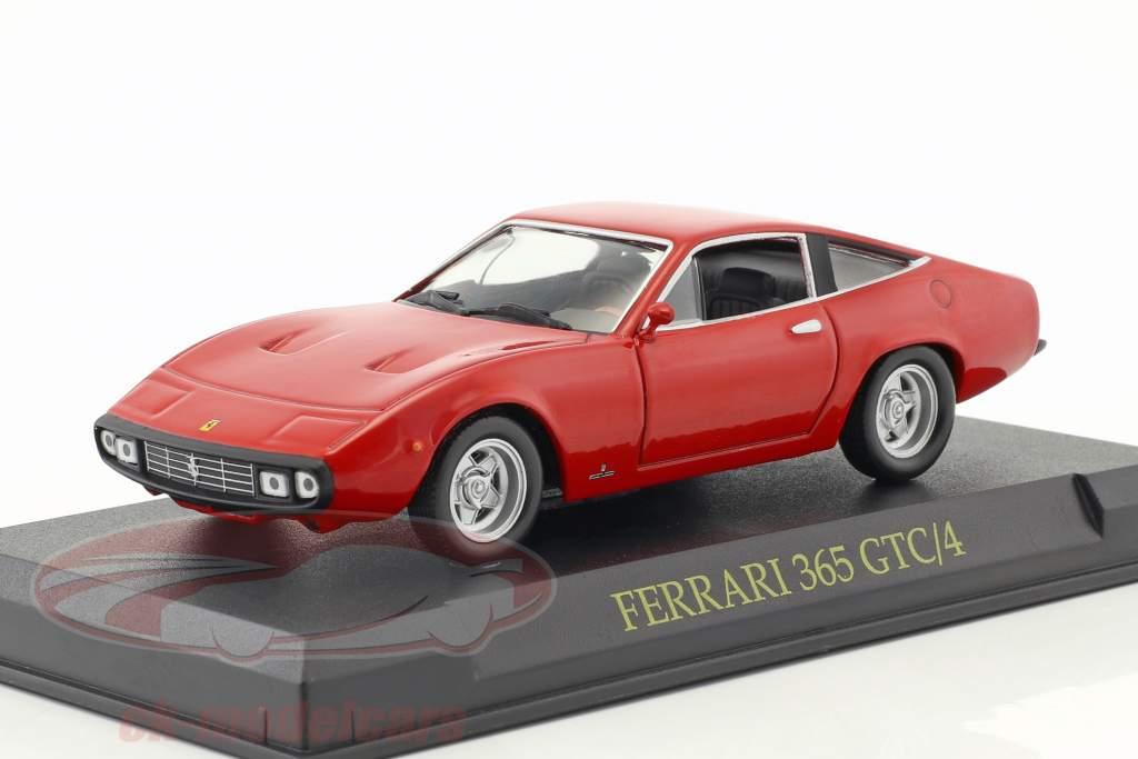 Ferrari 365 GTC/4 red 1:43 Altaya