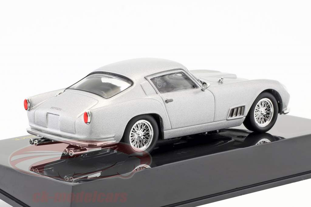 Ferrari 250GT Berlinetta Tour de France silver with showcase 1:43 Altaya
