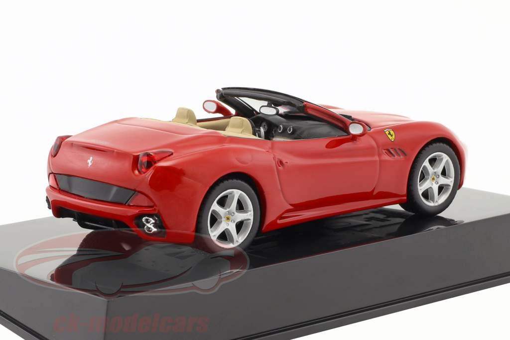 Ferrari California rosso con vetrina 1:43 Altaya