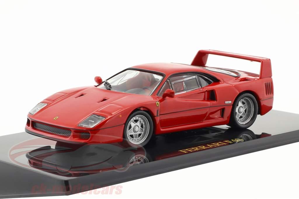 Ferrari F40 rot mit Vitrine 1:43 Altaya