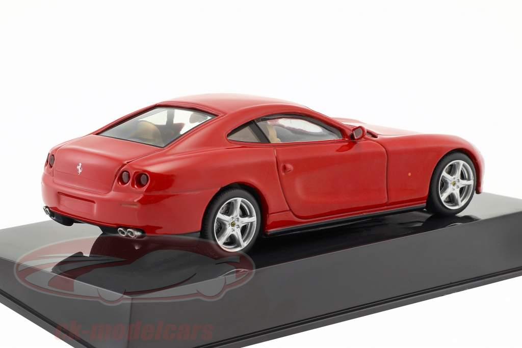 Ferrari 612 Scaglietti rot mit Vitrine 1:43 Altaya