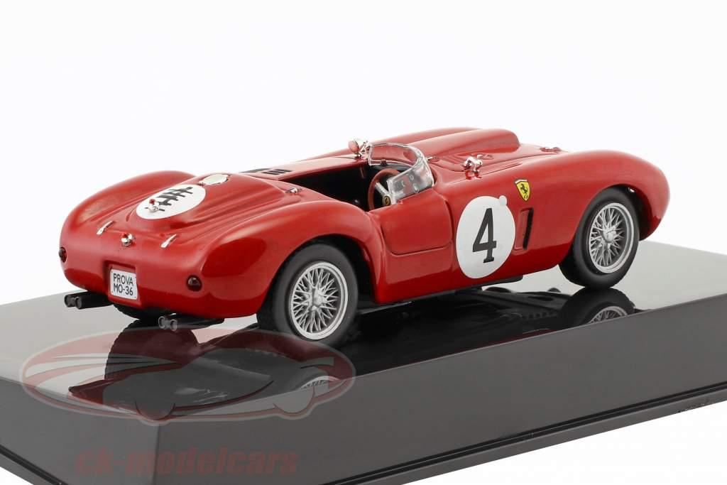 Ferrari 375 Plus #4 vincitore 24h LeMans 1954 Gonzalez, Trintignant con vetrina 1:43 Altaya