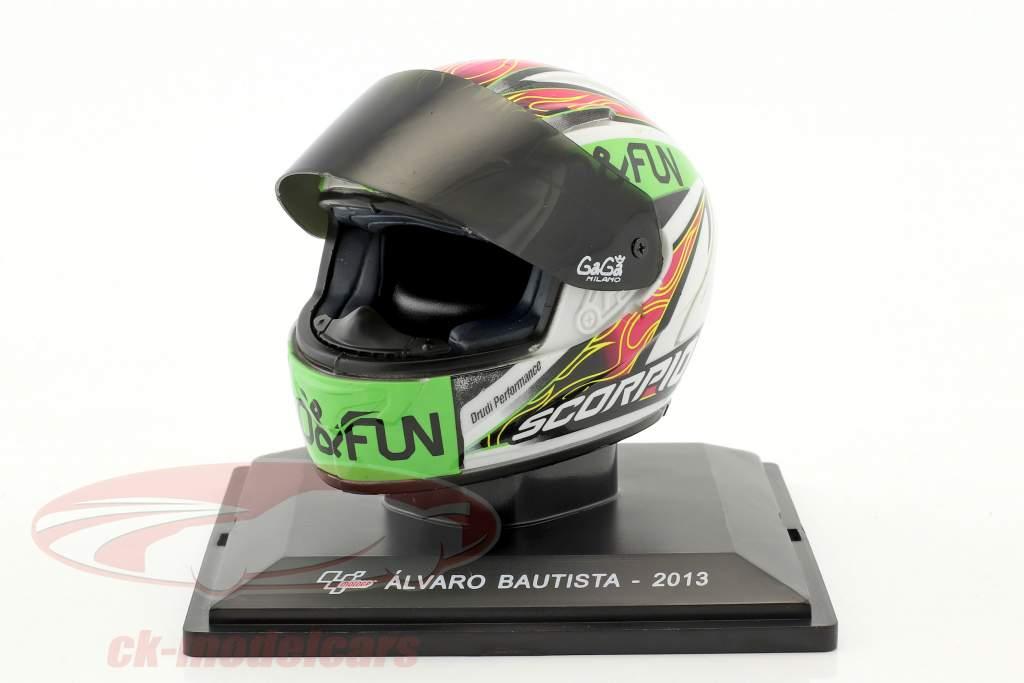 Alvaro Bautista MotoGP 2013 casco 1:5 Altaya